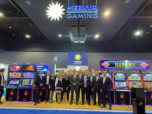 Merkur stars at Belgrade gaming show