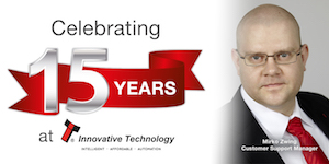 Innovative's Zwing celebrates 15 years