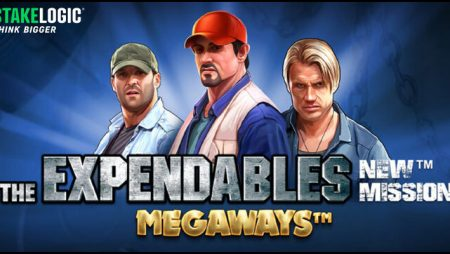 Stakelogic BV debuts The Expendables: New Mission Megaways video slot