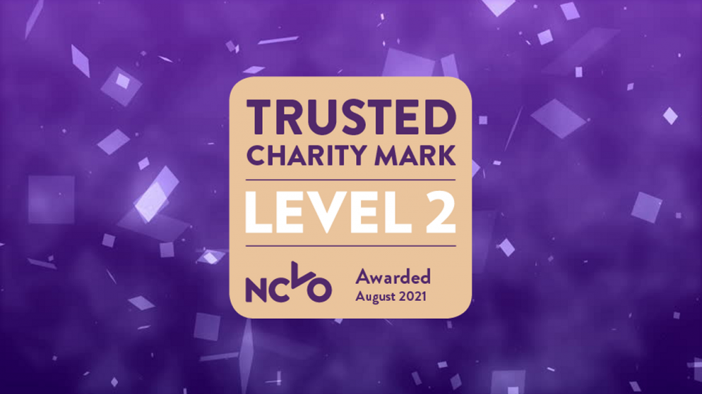 YGAM awarded Trusted Charity Mark for effective governance and management