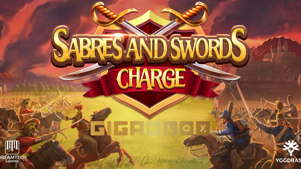 Yggdrasil launches heroic slot Sabres & Swords Charge GigaBlox with Dreamtech