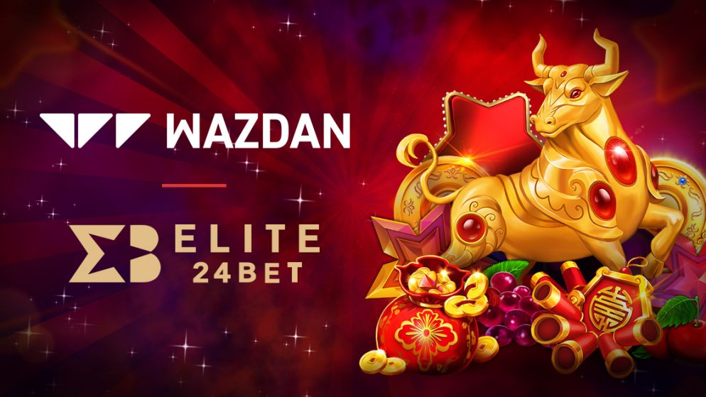 Wazdan takes its complete games collection live with Elite24Bet