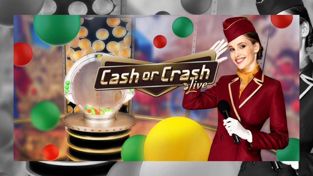 EVOLUTION LAUNCHES CASH OR CRASH, UNIQUE HIGH-FLYING LIVE GAME SHOW