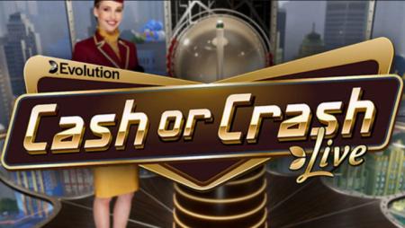 Evolution Gaming releases new live online game show title Cash or Crash