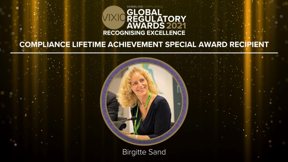 VIXIO GamblingCompliance Global Regulatory Awards 2021 Compliance Lifetime Achievement Award Recipient Announced