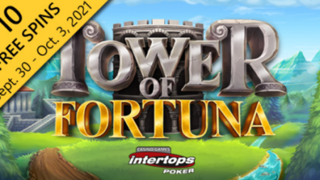 Intertops Poker to highlight Betsoft's Tower of Fortuna this week with extra spins deal
