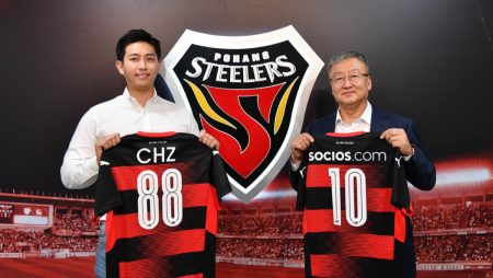 Pohang Steelers Partners with Chiliz