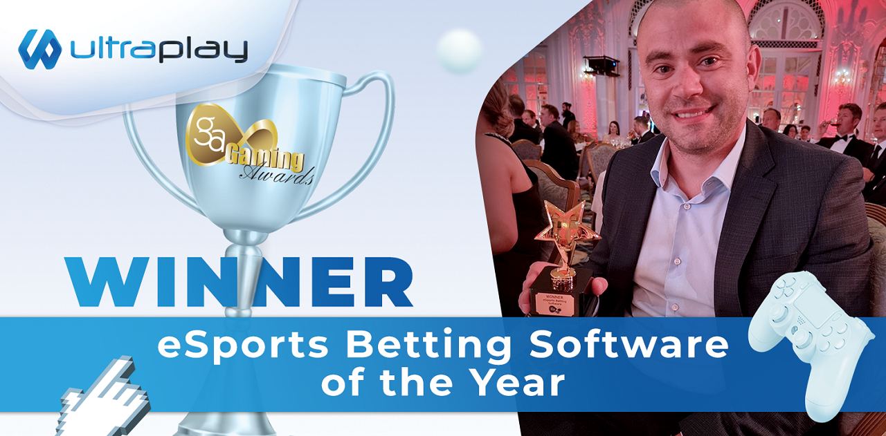 UltraPlay won its second IGA Esports Betting Software of the Year Award