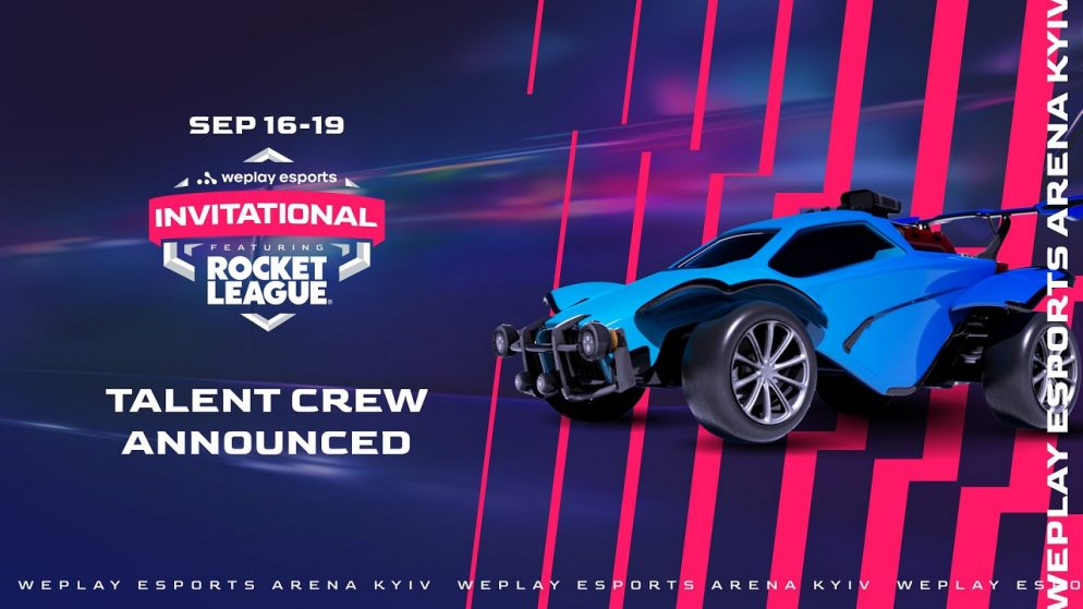 WePlay Esports Invitational talent crew announced