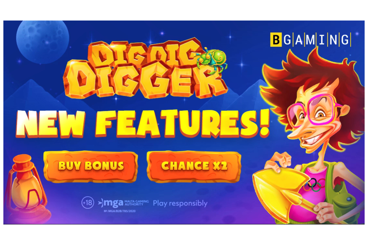 BGaming upgraded Dig Dig Digger slot with new features!