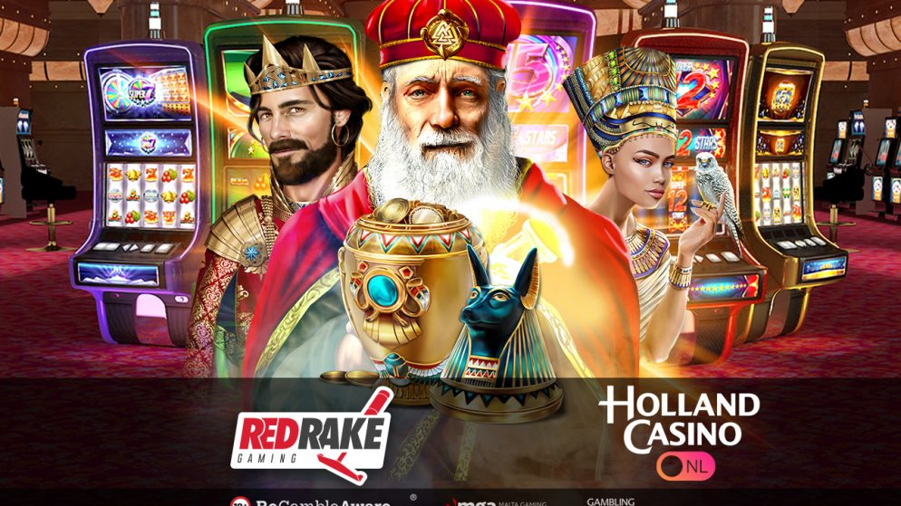 Red Rake Gaming enters the Netherlands with the market powerhouse, Holland Casino