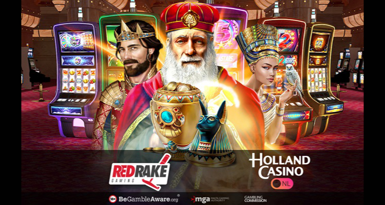Holland Casino to distribute Red Rake Gaming's top performing slots in newly regulated Dutch market