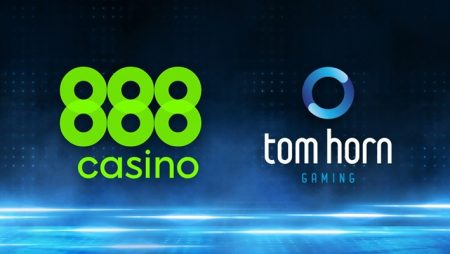 Tom Horn Gaming milestone deal with 888casino to further expand distribution capabilities
