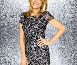 Game show icon Vanna White on IGT booth