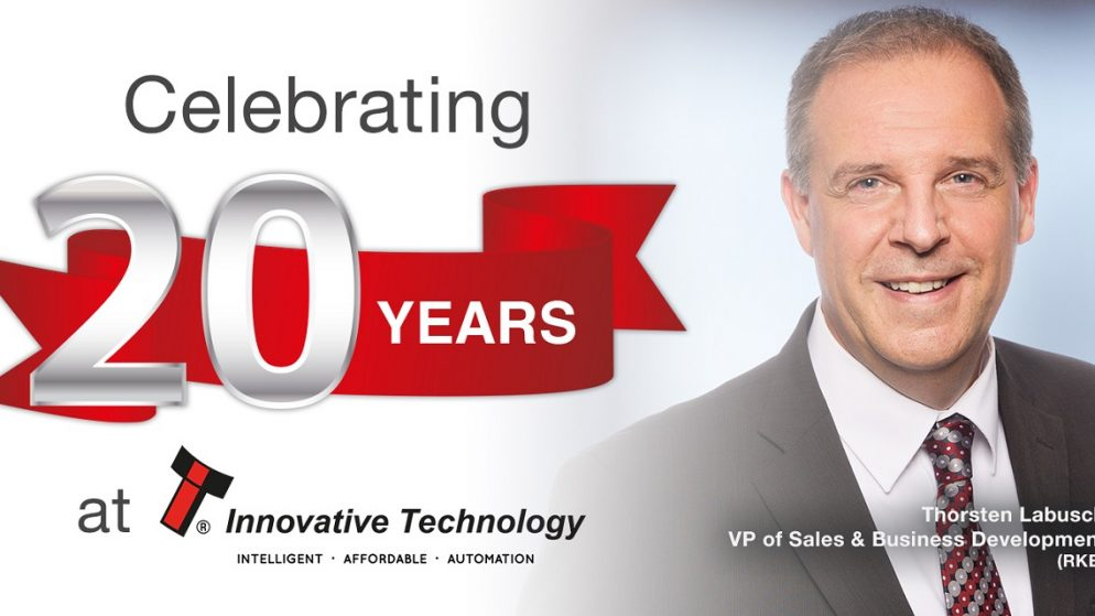 VP of Sales & Business Development for ITL celebrates 20-year milestone