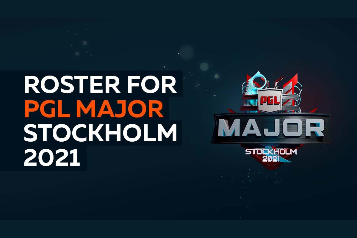 Virtus.pro roster for PGL Major Stockholm 2021