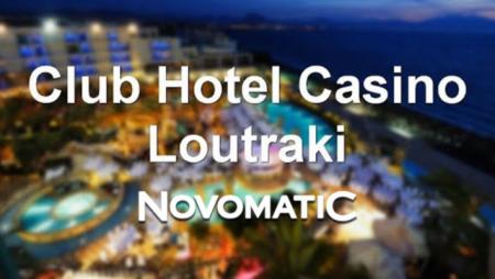 Novomatic gaming machines find a new home in Club Hotel Casino Loutraki