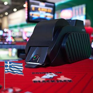 TCS shuffler OK for Greek casino market