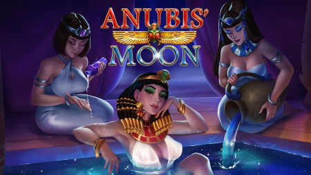 Evoplay visits the lands of the Pharaohs in Anubis' Moon