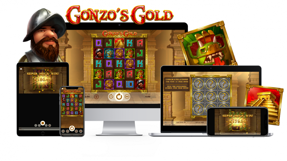 NetEnt unveils Gonzo's Gold™, the latest addition in its Gonzo series