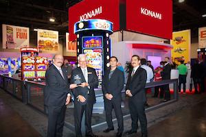 Konami Gaming wins top slot award