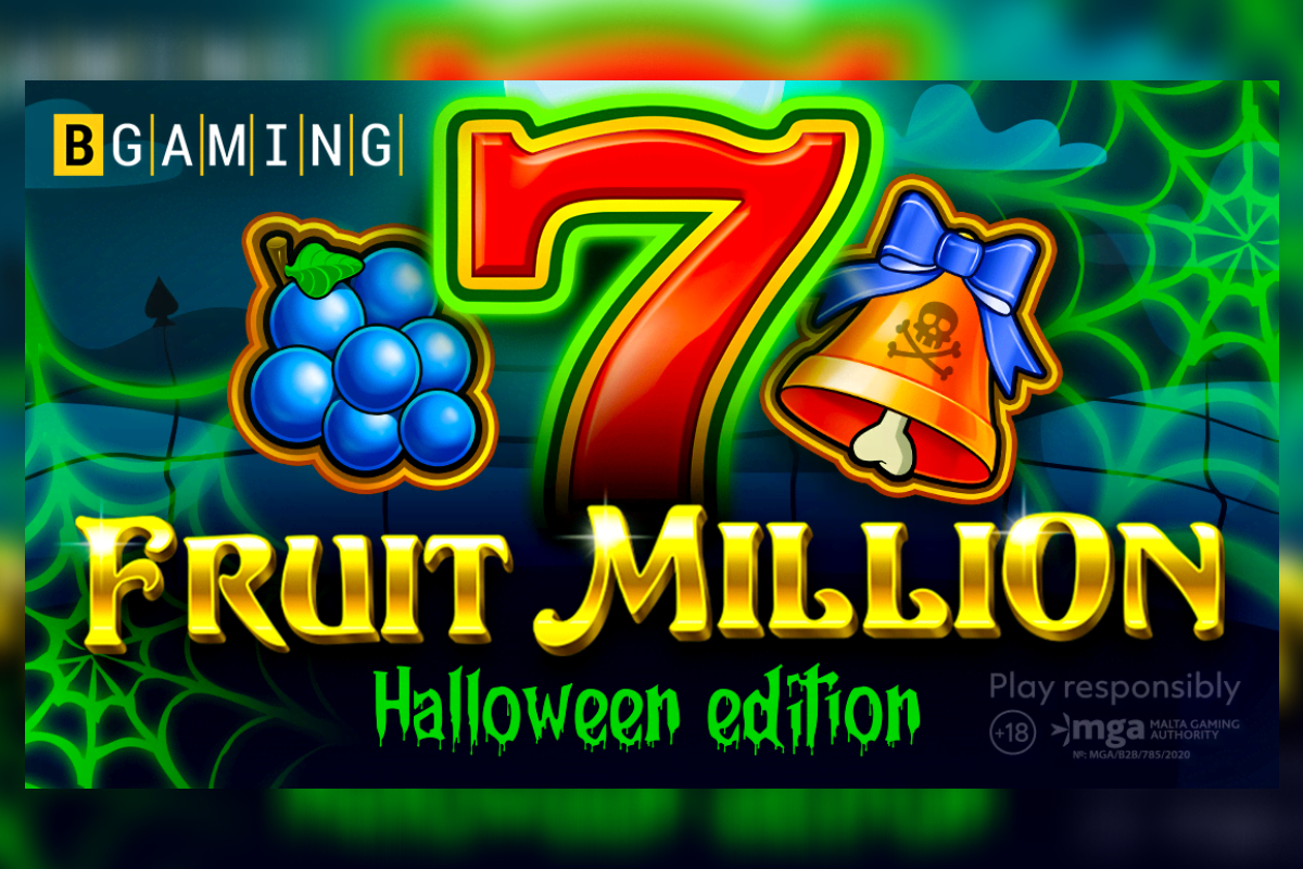"""Fruit Million slot celebrates Halloween: BGaming released new edition of the first """"shapeshifter""""slot!"""