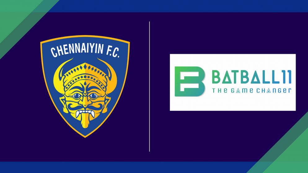 Chennaiyin FC onboard BatBall11 as Associate Sponsor